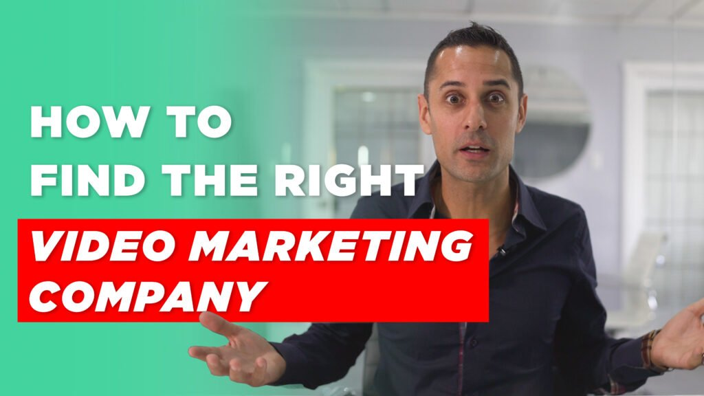 Male looking confused. Text that says: How to find the right video marketing company