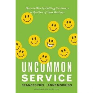 A book titles Uncommon Serivce