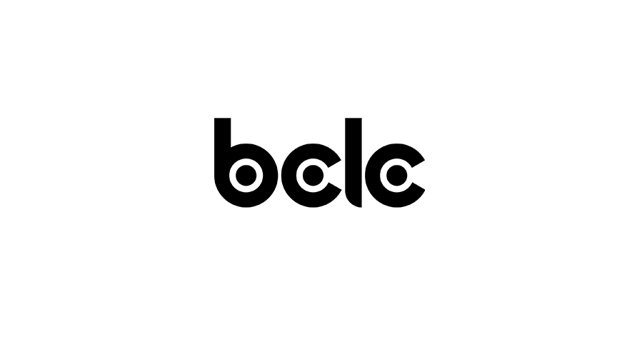 BCLC logo in black and white
