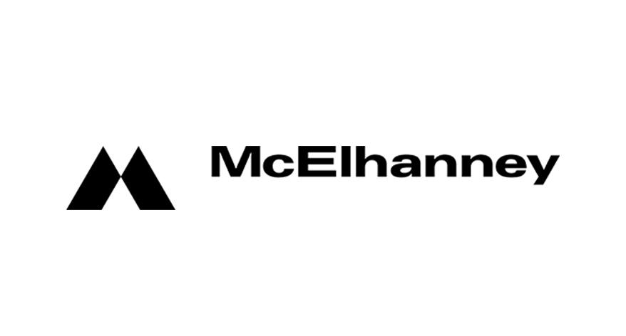 McElhanney logo in black & white