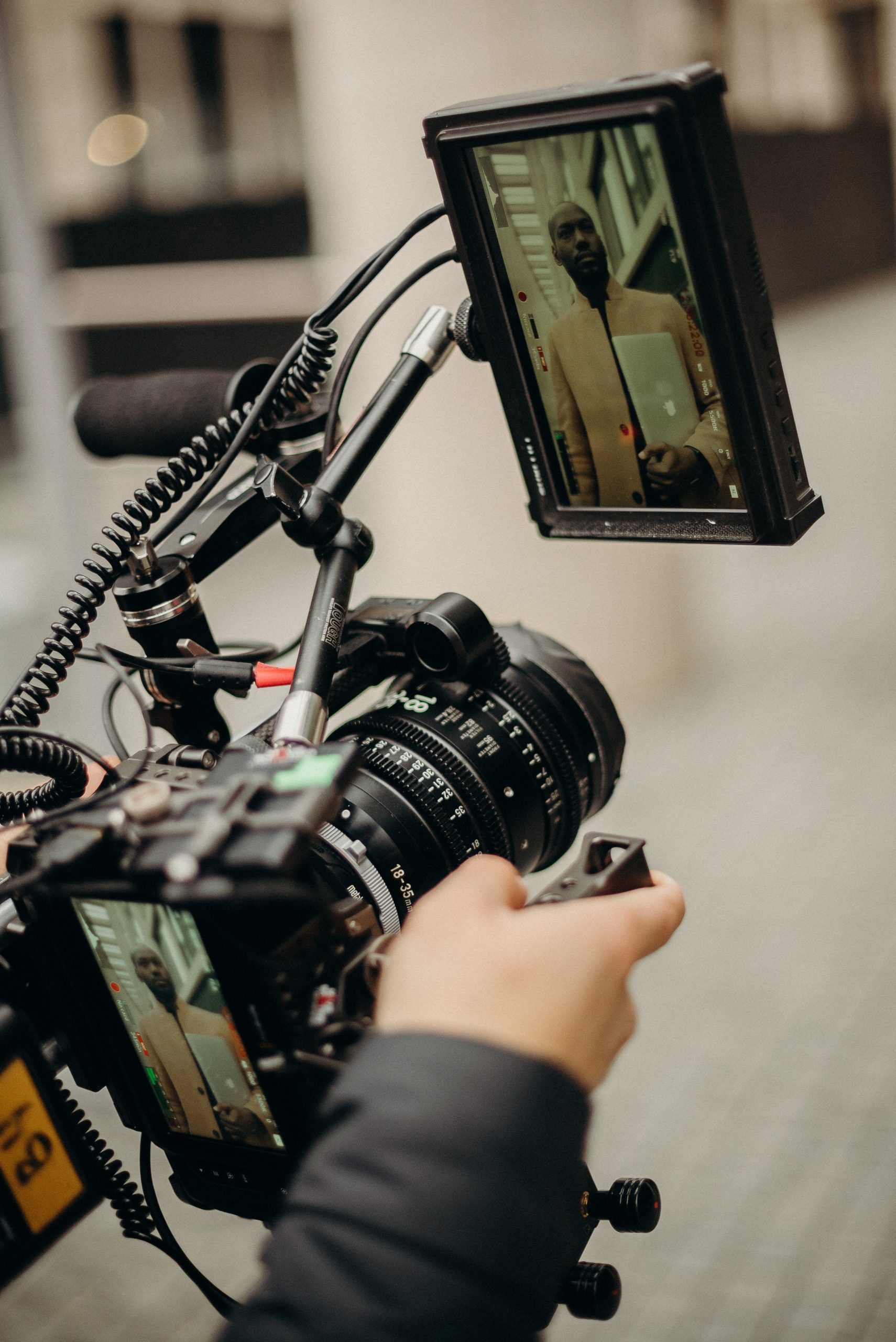 best corporate video production company filming footage